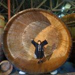ひとなる祭 木桶体験